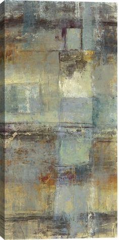 Resurgence I Abstract Canvas Wall Art Print by Jane Bellows