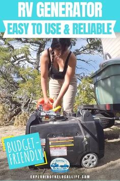 Don't overspend or buy a cheap and noisy RV generator. Read this in-depth independent review from a full-time RVing family. Find out why we recommend the RV Ready Champion 3500 Watt Dual Fuel Inverter Generator for your RV life. Rv Campers, Happy Campers, Inverter Generator, Small Rv, Rv Homes, Rv Parks, Rv Travel, Rv Life, Amazing Adventures