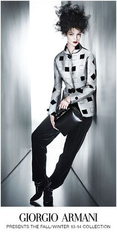 Giorgio Armani Fall/Winter 2013-14 #Fall #Winter #Armani #Fashion #CRFallFashion