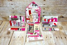 Every single crafter will have piles of scrap pieces of paper waiting for their time to be used. What better occasion to show them some love than Valentine's Day? Dana Tatar, one of the Canvas Corp Crew Members, shows you how to use the unloved bits and pieces to create amazing collage-based cards and home decor. For this project, she used Canvas Corp Pattern Papers. They come in various colours...
