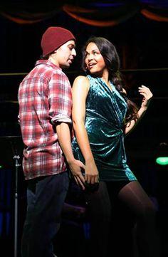 "Lin-Manuel Miranda and Karen Olivo in ""Tick, Tick ... Boom!""  Ooh!"