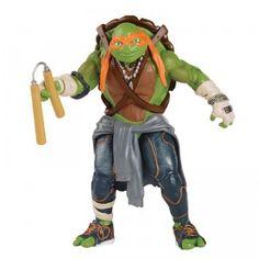 Teenage Mutant Ninja Turtles Movie Michelangelo from Playmates Toys Teenage Mutant Ninja Turtles, Ninja Turtles Movie, Ninja Turtles Action Figures, Teenage Turtles, Tmnt Turtles, Michelangelo, Turtle Gifts, Popular Kids Toys, Superhero