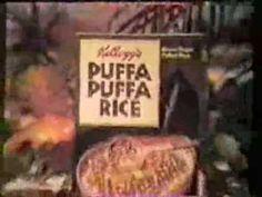 Kellogg's Puffa Puffa Rice 1967 commercial