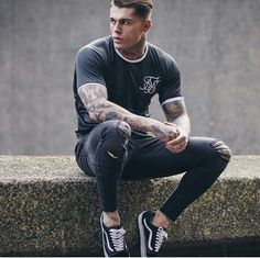 Model Stephen James for Sik Silk