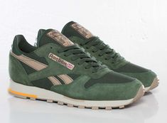 Reebok Classic Leather Olive/Green/Beige