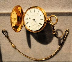 Abraham Lincoln's pocket watch. `