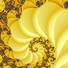 Fractal in Yellow