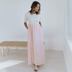 This Maxi is truly a dream come true and one of those instant classics you'll never get tired of wearing!
