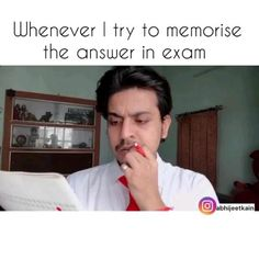 Exam Quotes Funny, Exams Funny, Funny Attitude Quotes, Funny School Memes, Funny True Quotes, Jokes Quotes, Jokes Videos, Some Funny Videos, Funny Videos For Kids