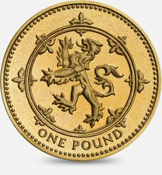 1994 & 1999 'Lion Rampant' representing Scotland £1 (One Pound) Coin #CoinHunt
