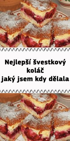 Fruit Recipes, Cake Recipes, Dessert Recipes, Healthy Recipes, Let Them Eat Cake, Sweet Tooth, French Toast, Deserts, Food And Drink