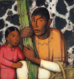Picturing Mexico: Alfredo Ramos Martínez in California is the first comprehensive examination by a museum of this Mexican artist's work produced in California between 1929 and 1946. On view until April 20, 2014. Pasadena Museum of California Art (PMCA), Pasadena, California.  Image Credit:  Alfredo Ramos Martínez, Indio del Cactus / Indian with Cactus [detail], ca. 1938. Tempera on paper, 28 ½ x 26 ¼ inches. The San Diego Museum of Art, Museum Purchase. © Alfredo Ramos Martinez Research…