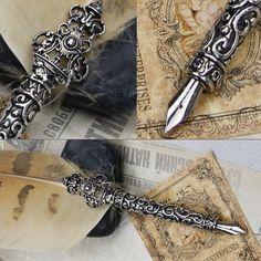feather calligraphy pens - Pesquisa Google