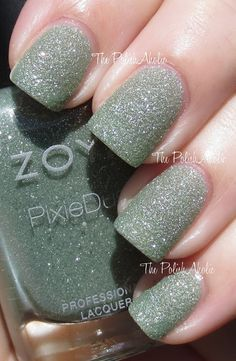 The PolishAholic: Zoya PixieDust Collection Swatches - Vespa