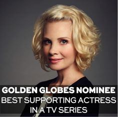Join us in congratulating Monica Potter on her much-deserved Golden Globes nomination!