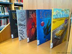 Aunque no es novela, sino Cómic, lo introduzco aquí porque de negro tiene mucho. Hoy en el blog reseño Blacksad.