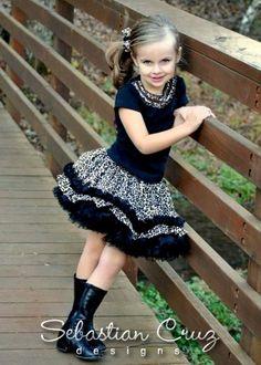 Cheetah Girl Skirt Set