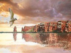 'Helgoland in Sicht' von Dirk h. Wendt bei artflakes.com als Poster oder Kunstdruck $18.03