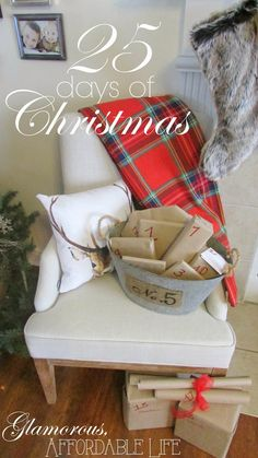 25 Days of Christmas from Glamorous, Affordable Life