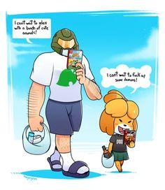 Video game memes 662873638893528359 - Source by kazuuto Video Game Memes, Video Games Funny, Funny Games, Cute Comics, Funny Comics, Owlturd Comics, Animal Crossing Funny, Funny Gaming Memes, Nerd Humor