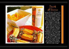 Biscotti all'Arancia  di Gabriella Lomazzi.  Richiedici la copia digitale del Ricettario Bomapi scrivendo all'indirizzo info@bomapi.com