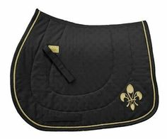 Equine Couture Fleur De Lis All Purpose Saddle Pad by JPC. $25.50. Equine Couture saddle pad with Fluer De Lis design. Available in a variety of classic colors