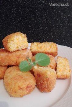Ryžové krokety s mrkvou (fotorecept)