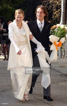 "The wedding of Princess Kalina of Bulgaria, Duchess of Saxony, and Antonio ""Kitín"" Muñoz y Valcárcel October 26, 2002 in Borovets, Bulgaria"