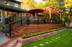 16 Amazing Outdoor Deck Design That Looks Like Restored Heaven