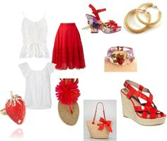 A Napa Picnic, created by renspe on Polyvore
