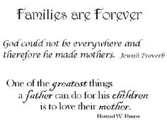 Love family quotes.
