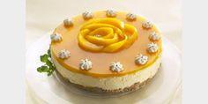 Valmista Mango-Juustokakku tällä reseptillä. Helposti parasta! Delicious Desserts, Yummy Food, Mango Cheesecake, Baked Potato Recipes, Fusion Food, Sweet Pastries, No Bake Treats, Love Food, Cake Recipes