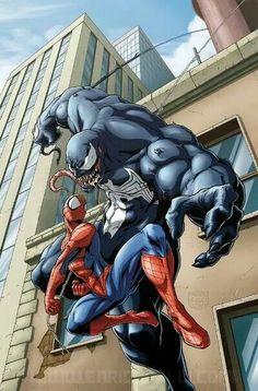 SpiderMan Vrs Venom(Eddie Broucks)-(01)