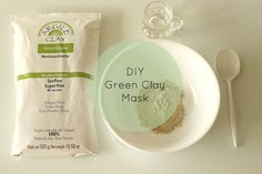 Super Easy DIY French Green Clay Mask + Benefits for Acne Prone and Oily Skin