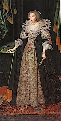 Amalia van Solms late 1620s or early 1630s