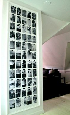 Palm Tree Gallery Wall #projectdesigngallerywalls