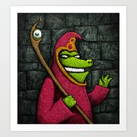 """""""Crocomage"""" by MaComiX Disney Characters, Fictional Characters, Art Prints, Dogs, Art Impressions, Pet Dogs, Doggies, Fantasy Characters"""