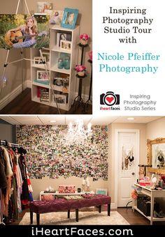 Visual Tour of Nicole Pfeiffer Photography's Stylish Seniors Studio Face Photography, Amazing Photography, Photo Tips, Photo Ideas, Photography Tutorials, Photo Studio, Creative Inspiration, Tours, Stylish