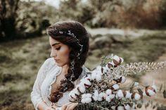 Brautfrisur und make up siegen