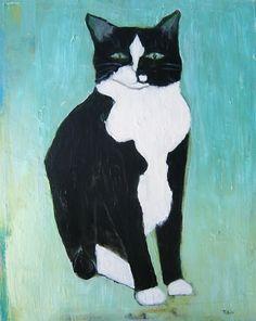 Tobin Eckian - looks like my bob tailed cat Paris who went to heaven