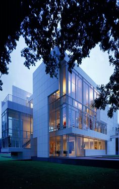 "Richard Meier, ""Rachofsky House II"", 1996, Dallas, TX, USA."