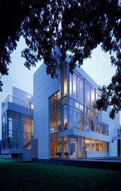 "Richard Meier, ""Rachofsky House II"", 1996, Dallas, TX, USA."