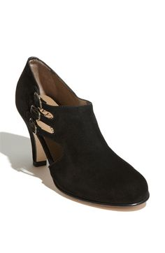Suede Pump with a boot feel / $425.00