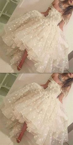 Cute Ivory Ball Gown Off-the-Shoulder Appliques Beading Long Prom/Homecoming Dress, ,modest ball gown off the shoulder long prom dresses, unique ivory homecoming dresses with appliques Ball Gowns Prom, Ball Dresses, Homecoming Dresses, Wedding Dresses, Dress Prom, Gown Wedding, Dresses Dresses, Long Dresses, Party Dress