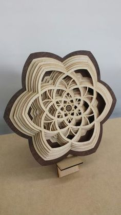 Theres a brilliant artist named Gabriel Schama who creates breath-taking artwork with wood. When I first came across his wooden sculptures, I immediately felt. Laser Art, Laser Cut Wood, Laser Cutting, Laser Cutter Ideas, Laser Cutter Projects, Cnc Wood, Wood Router, Cnc Router, Ornaments Design