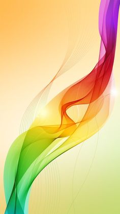 abstract art waves Abstract background