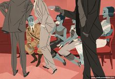 José Luis Ágreda es uno de los ilustradores del momento. Ahora presenta El joven rico y Bancarrota emocional, dos historias de F. Scott Fitzgerald...