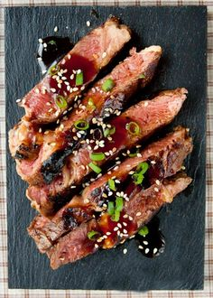 Beef Teriyaki Steak - the BEST thing from YO SUSHI!