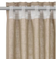 Sensational patio door drapes - look at our content article for a whole lot more tips and hints! Curtains 2018, No Sew Curtains, Curtains With Blinds, Curtain Patterns, Curtain Designs, Recycled House, Curtain Styles, Custom Drapes, Kitchen Curtains