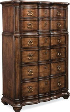 Lucca Drawer Chest  A graceful, imposing presence belies the generous…